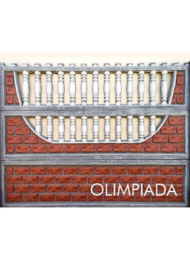 Gard beton G 01 Model: 6-2-3 Olimpiada Prod